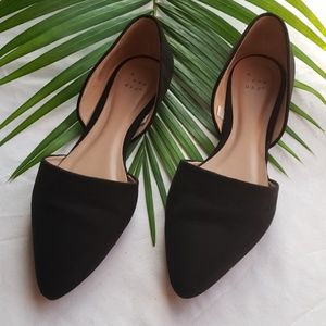 Women's Microsuede Pointed flats